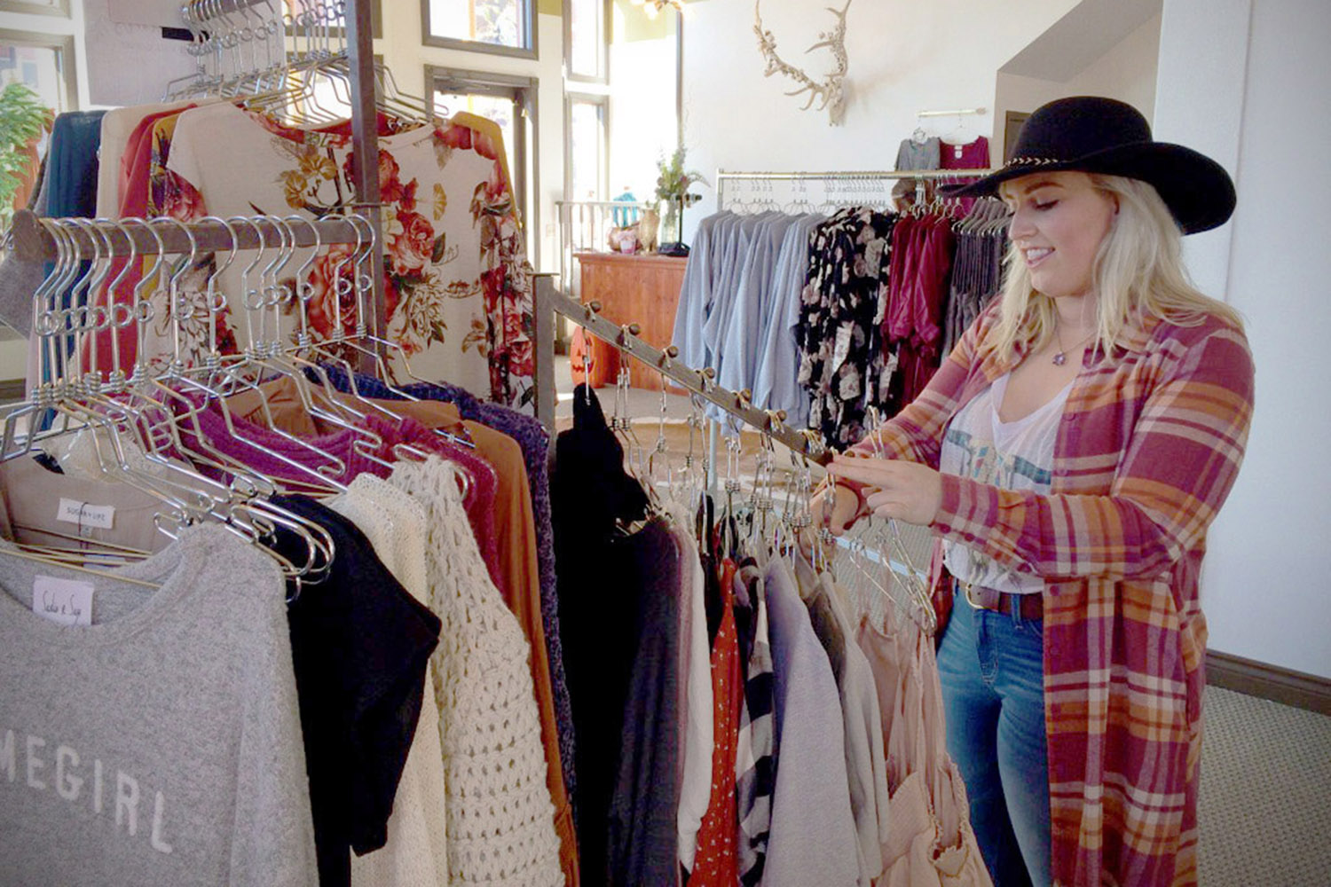 Owner, Cheyenne Frick at Buona Vita Boutique in Illinois