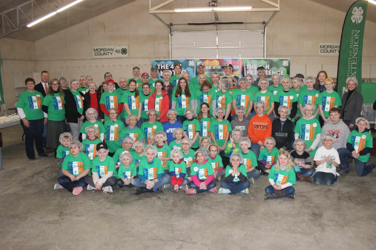 Million-meal milestone reached by Volunteers and 4-H Feeding & Growing Our Communities initiative