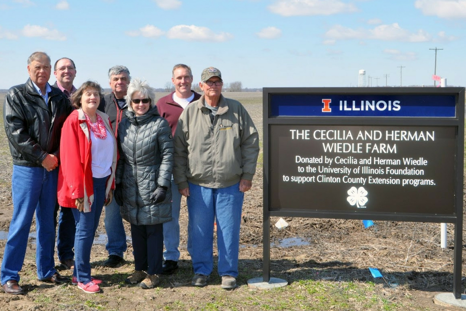 Wiedle Farm Donated to Illinois Extension to support Clinton County Extension Programs
