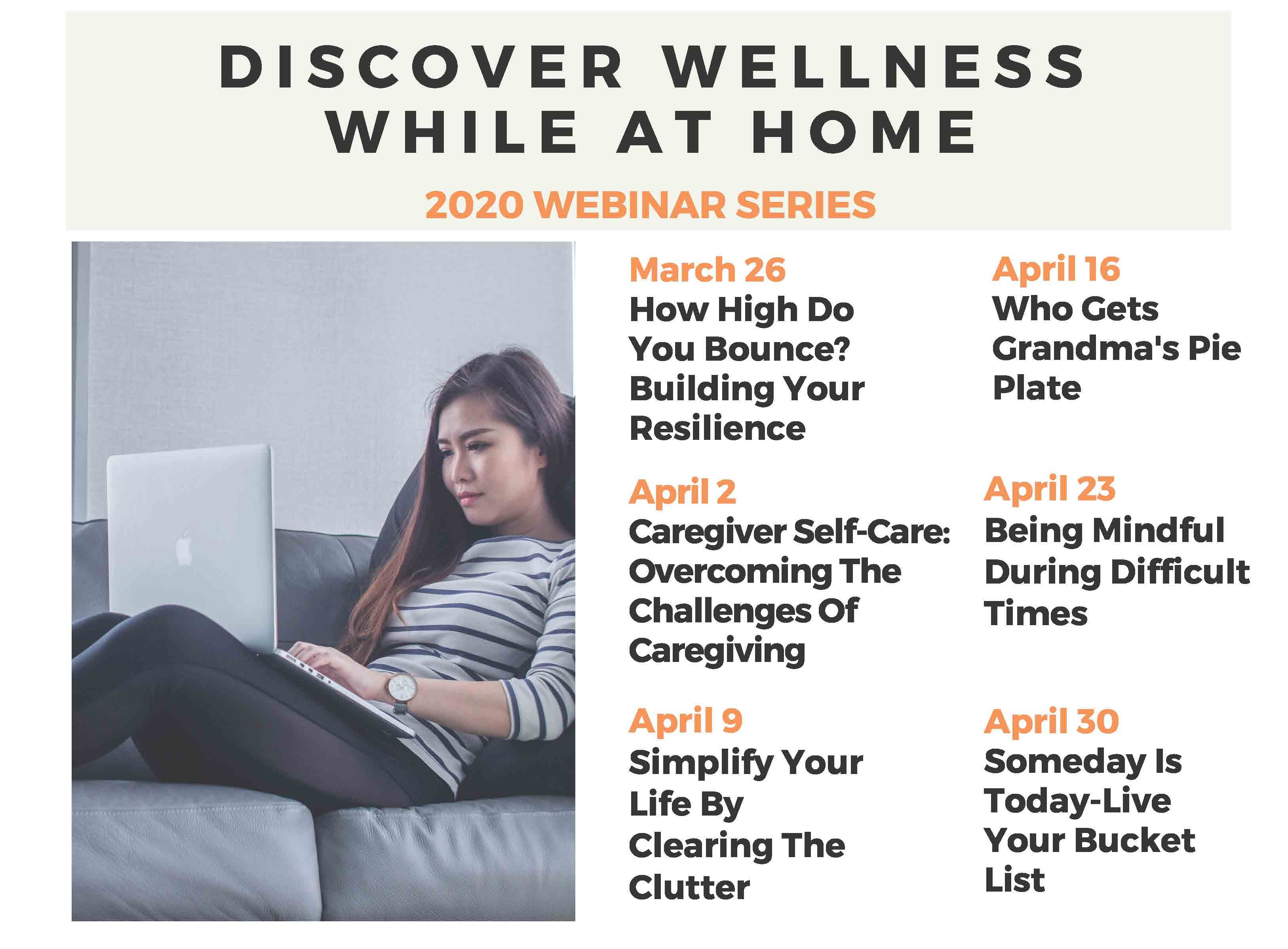Discover Wellness While At Home Someday Is Today Live Your Bucket List University Of Illinois Extension