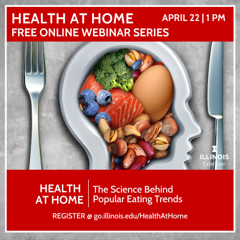 Promotion for Health at Home Webinar