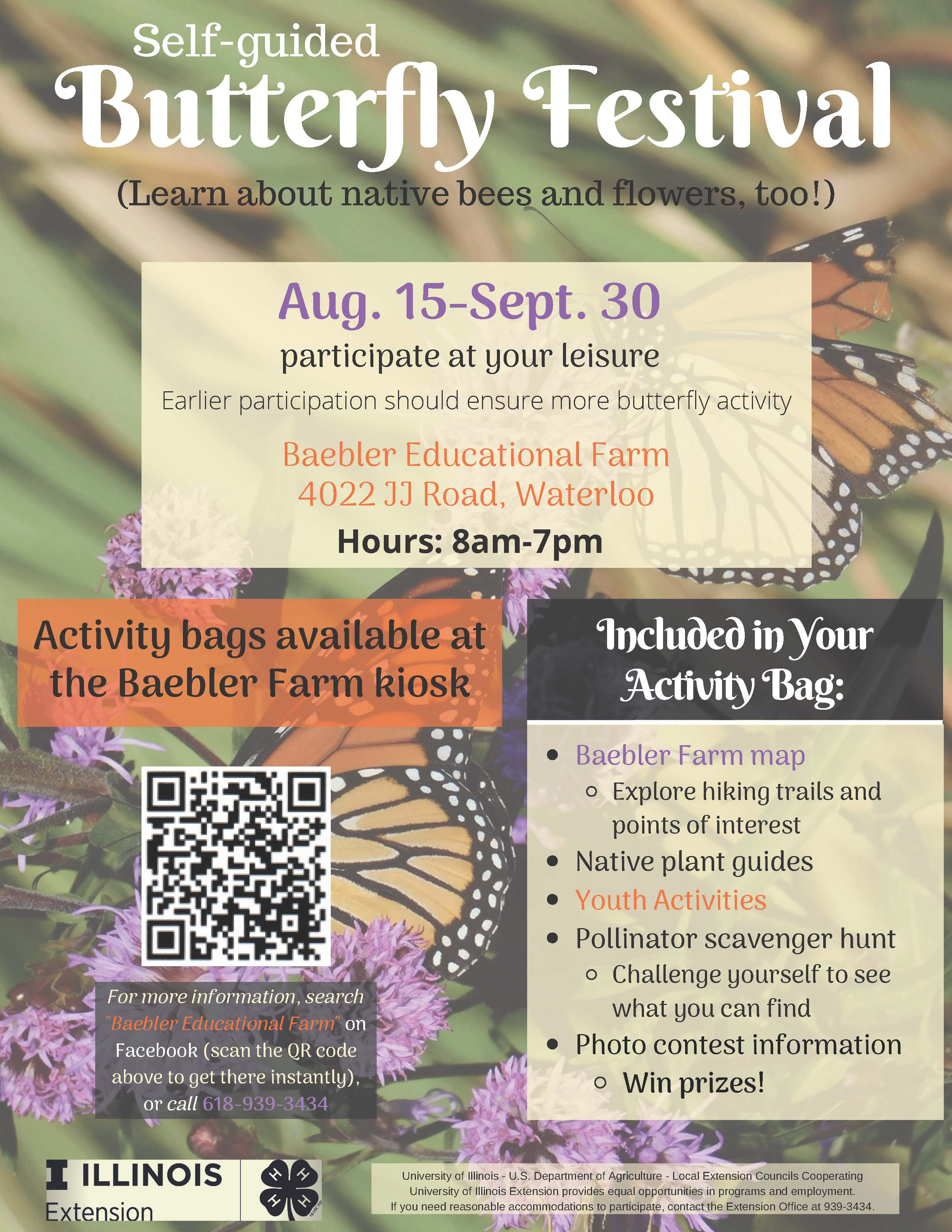 Self-Guided Butterfly Festival