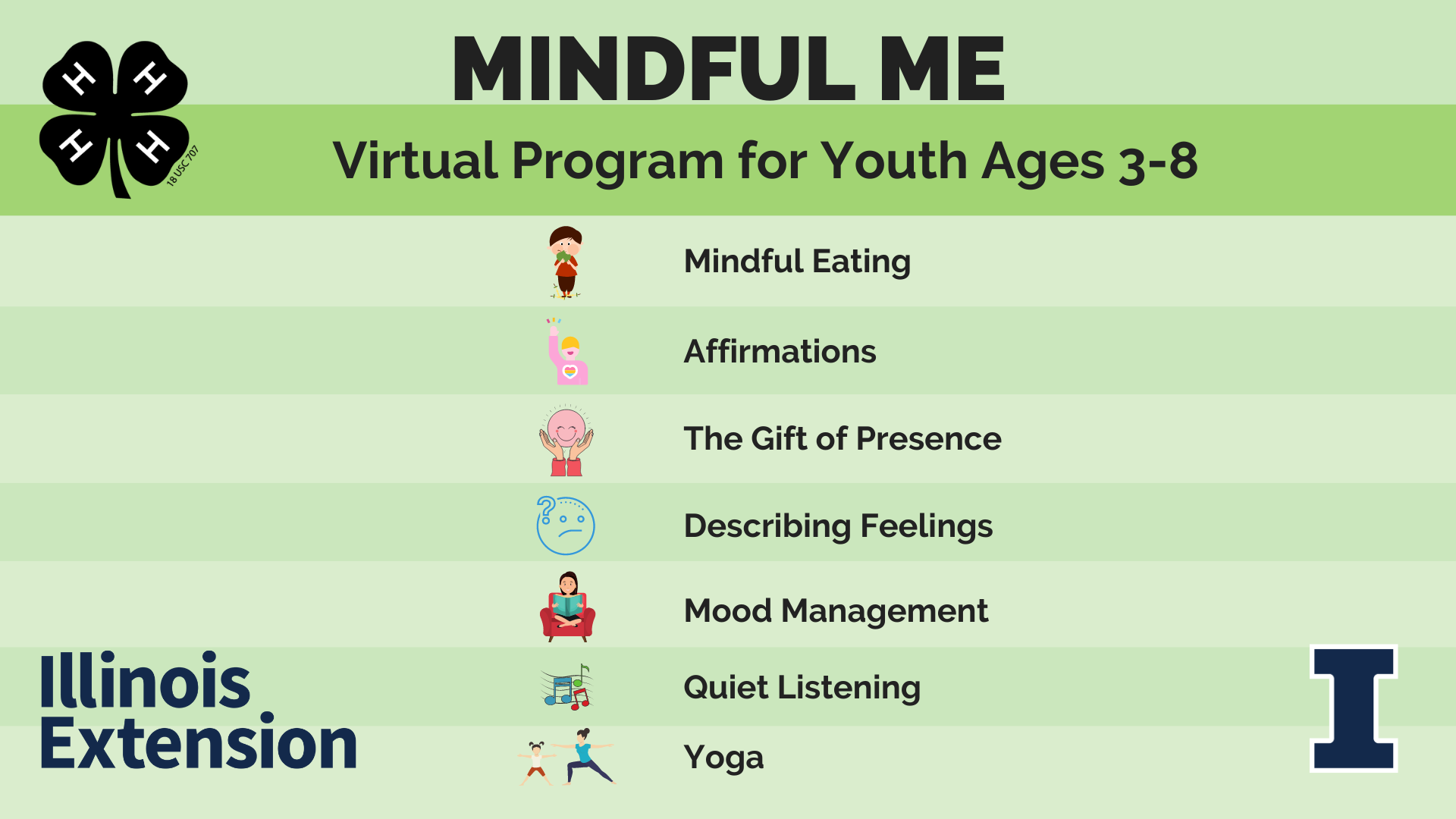 Mindful Me Virtual Program for Youth Ages 3-8