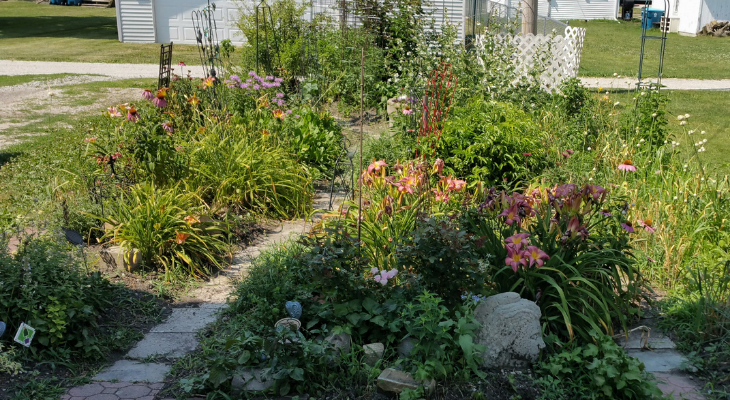 full season french intensive garden
