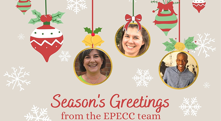 Season's Greeting from the EPECC team