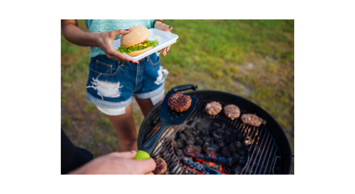 outdoor grill, hamburgers, hotdogs