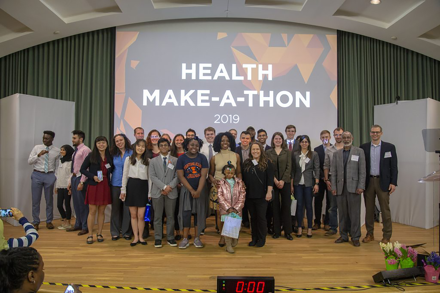 Health Make-a-thon participants pose for group photo