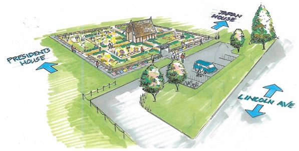 Idea Garden conceptional drawing