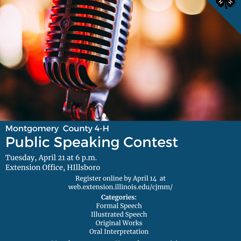 Montgomery - Public Speaking