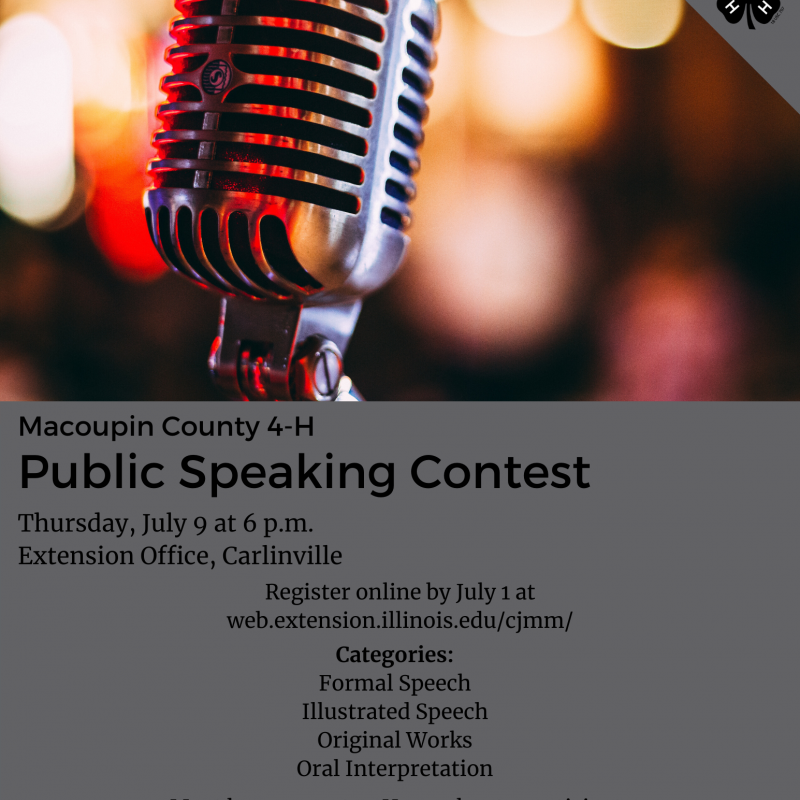 Macoupin Public Speaking