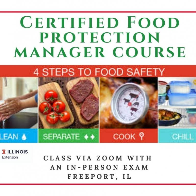 Certified Food Protection Manager Course