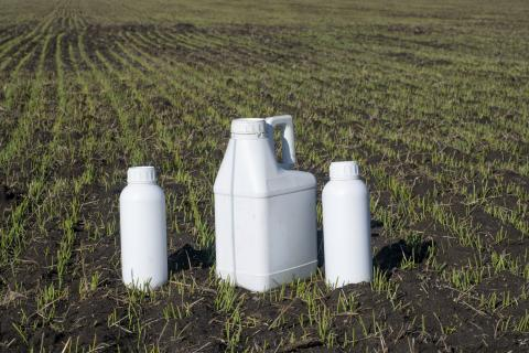 Agricultural Pesticide Containers