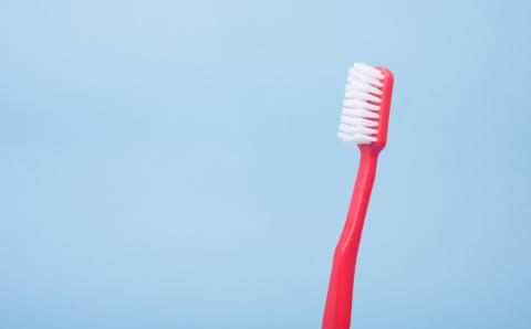 photo of toothbrush