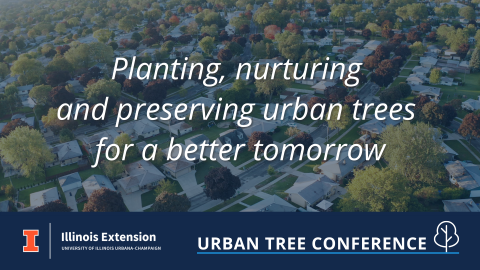 Urban Tree Conference - Planting, nurturing, and preserving urban trees